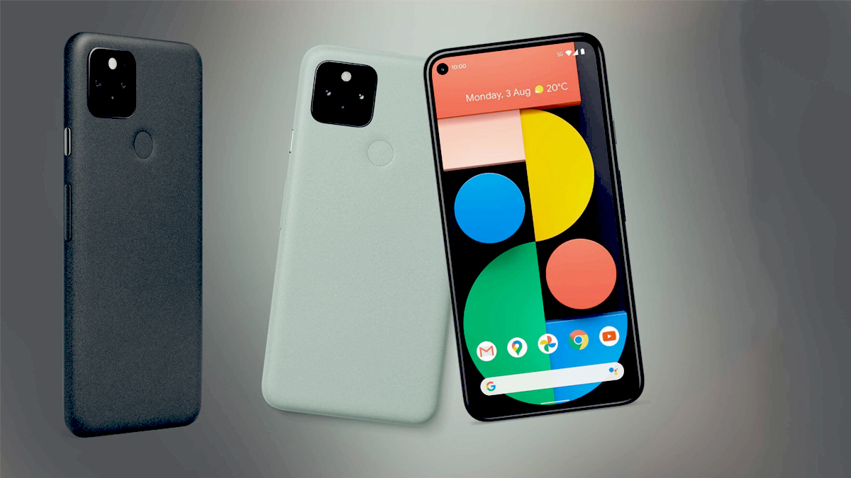 Google Pixel 5,Google Pixel 4a 5G