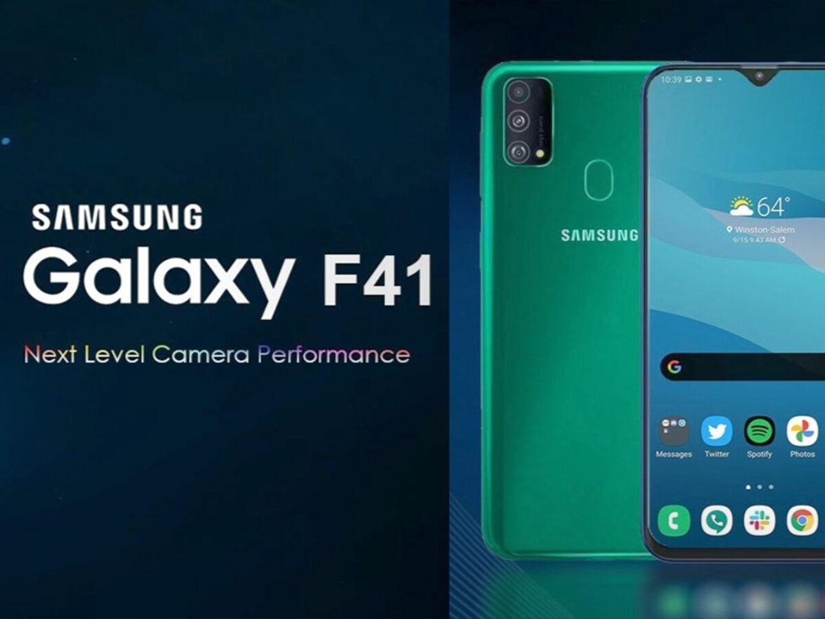 Samsung Galaxy F41 Might Hit The Indian Market Next Month