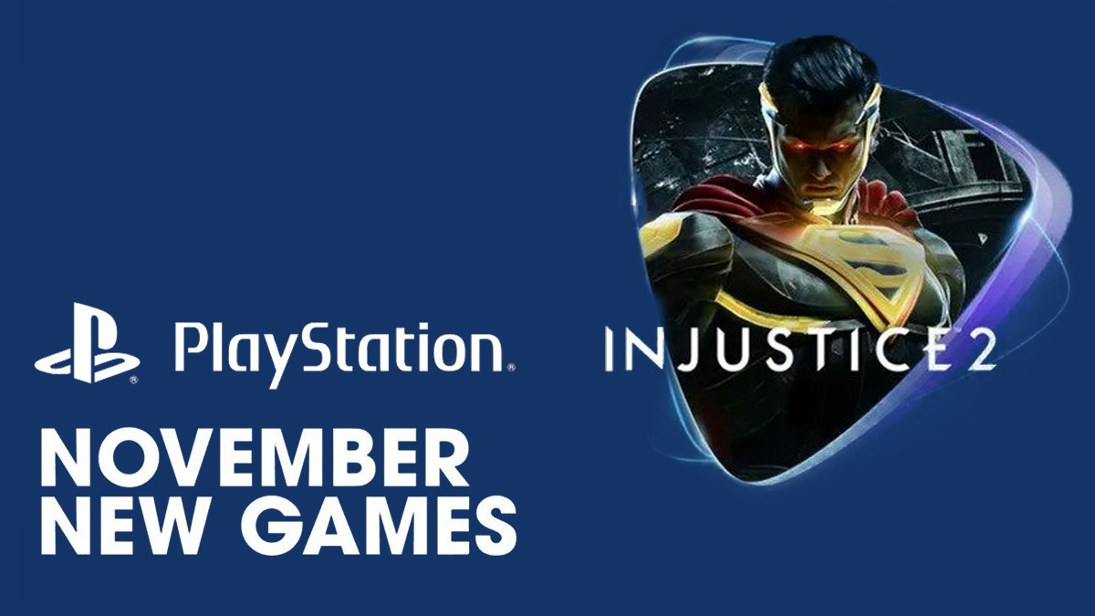PS Now November Update includes F1 2020, Injustice 2, and more