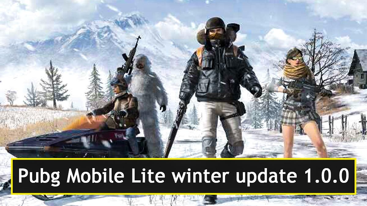 Pubg Mobile Lite winter update 1.0.0