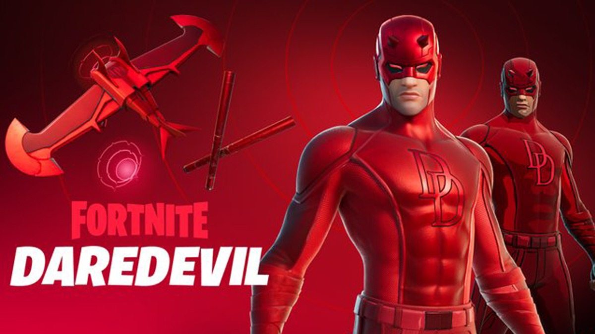 Fortnite Daredevil set has arrived at the item shop for purchase