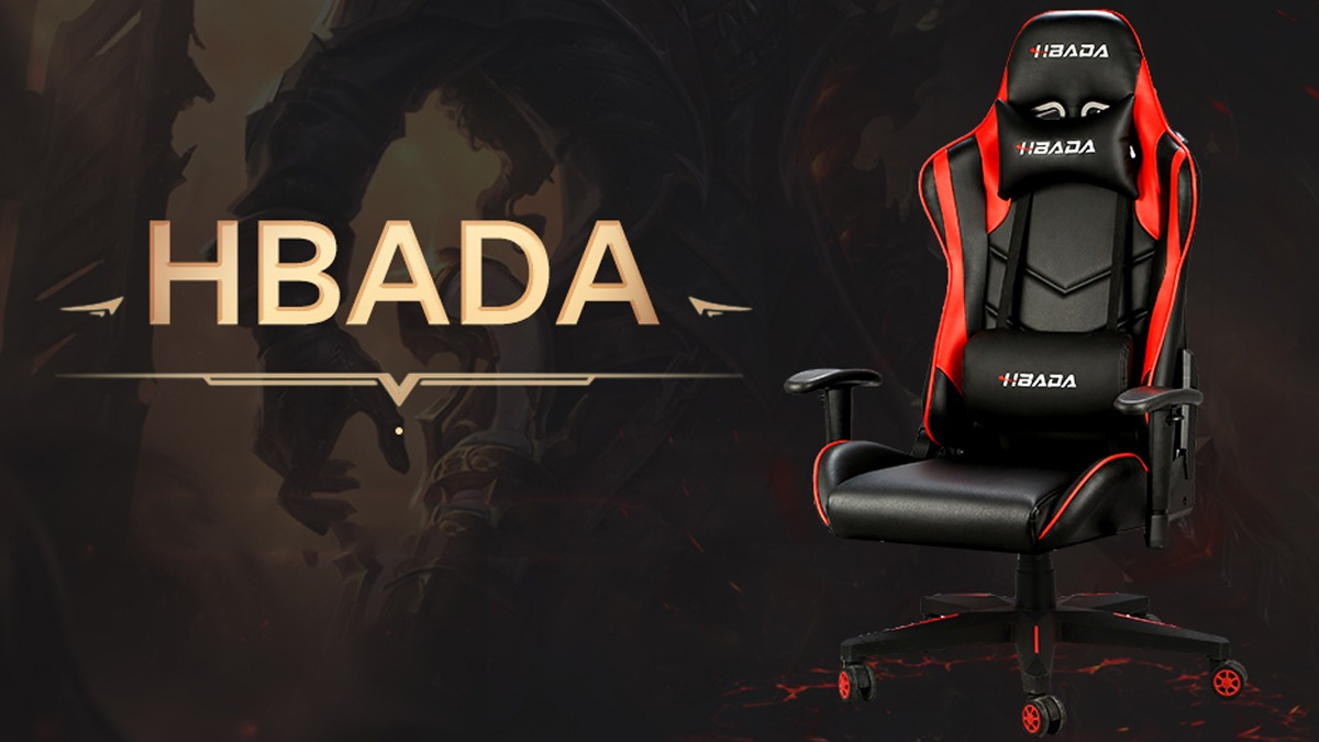 Save up to $55 on Hbada Racing Style Gaming Chair at Amazon