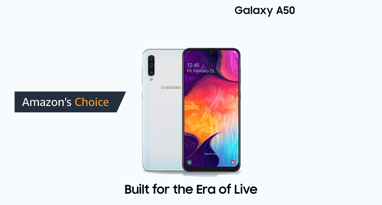 Samsung Galaxy A50 smartphone becomes Amazon's Best Choice