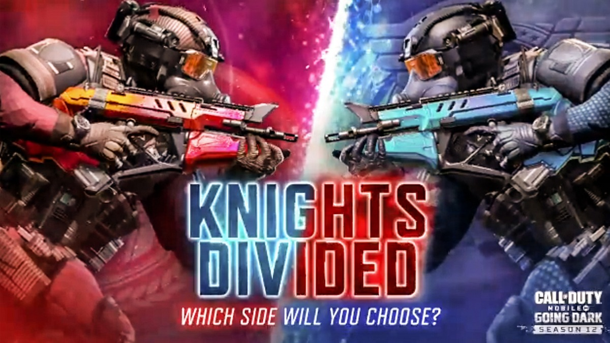 COD Mobile Knights Divided Event