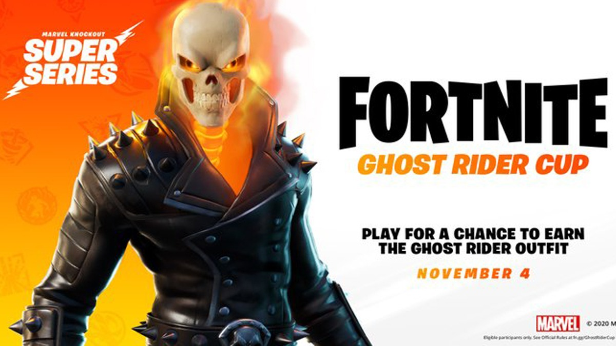 Fortnite Ghost Rider Cup Starting From Wednesday, November 4