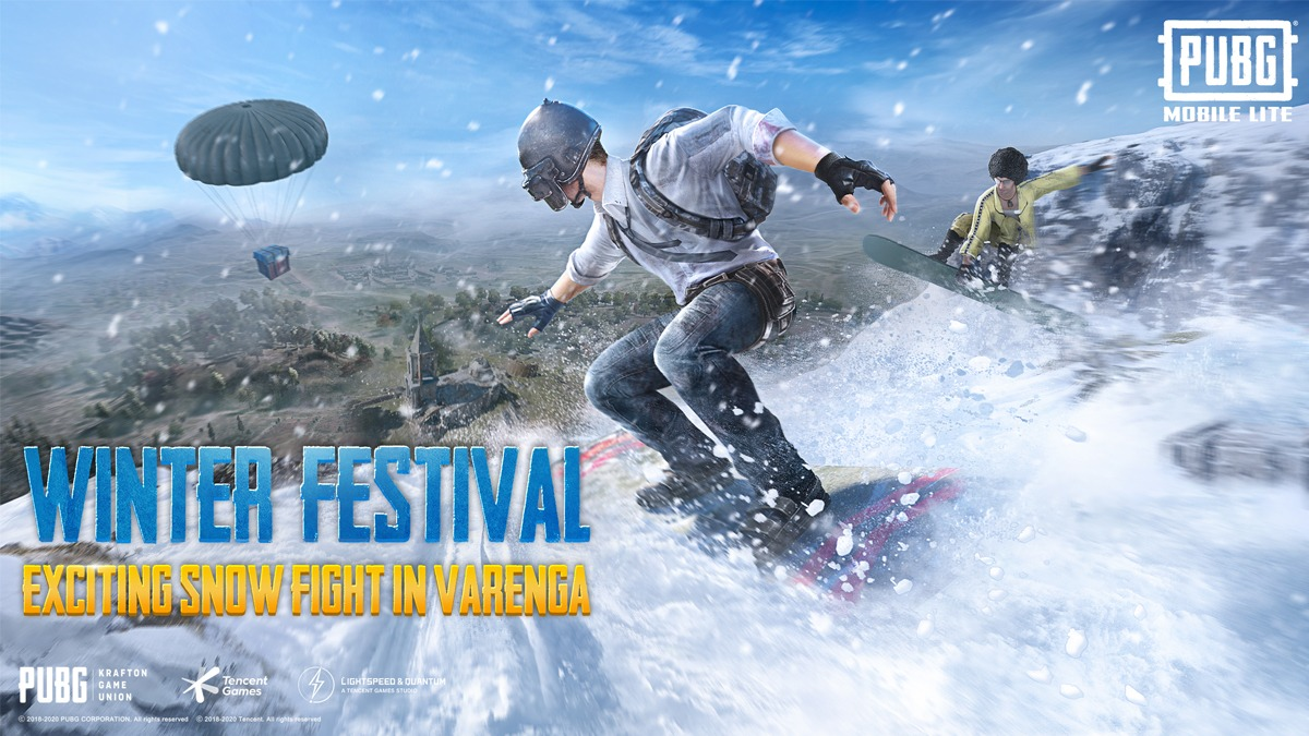 Pubg Mobile Lite Winter Festival update 1.0.0 (0.20.0) finally released