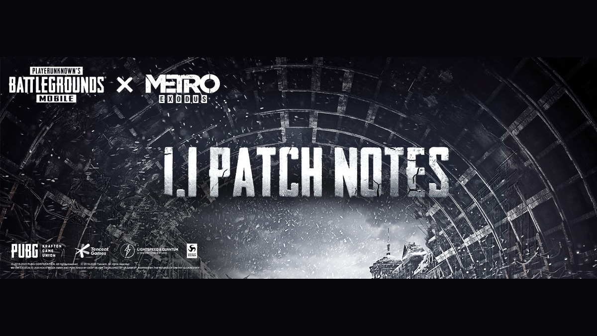 PUBG Mobile Update 1.1 Patch Notes New Mode & features revealed