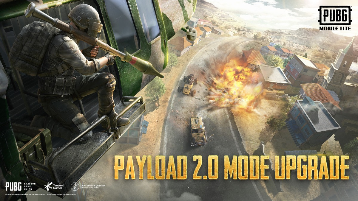 Pubg Mobile Lite Payload 2.0 mode is upgraded and is available now