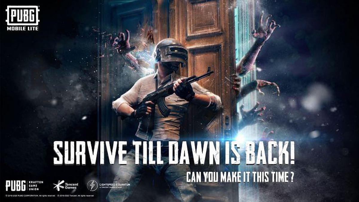 PUBG Mobile Lite Survive Till Dawn Zombie Mode returns