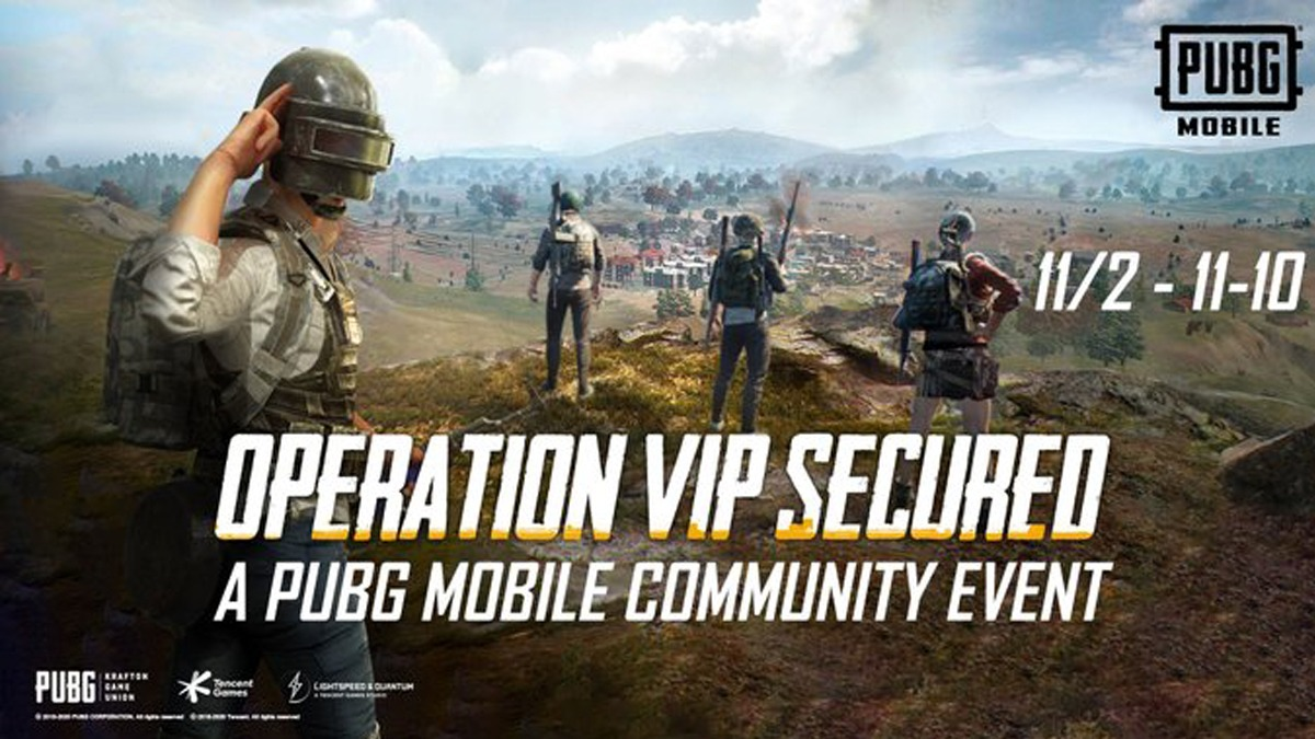 Pubg Mobile Operation VIP Secured Event announced with incredible prizes