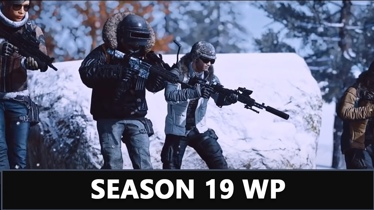 Pubg Mobile Lite Season 19 WP will be totally based on Winter Update