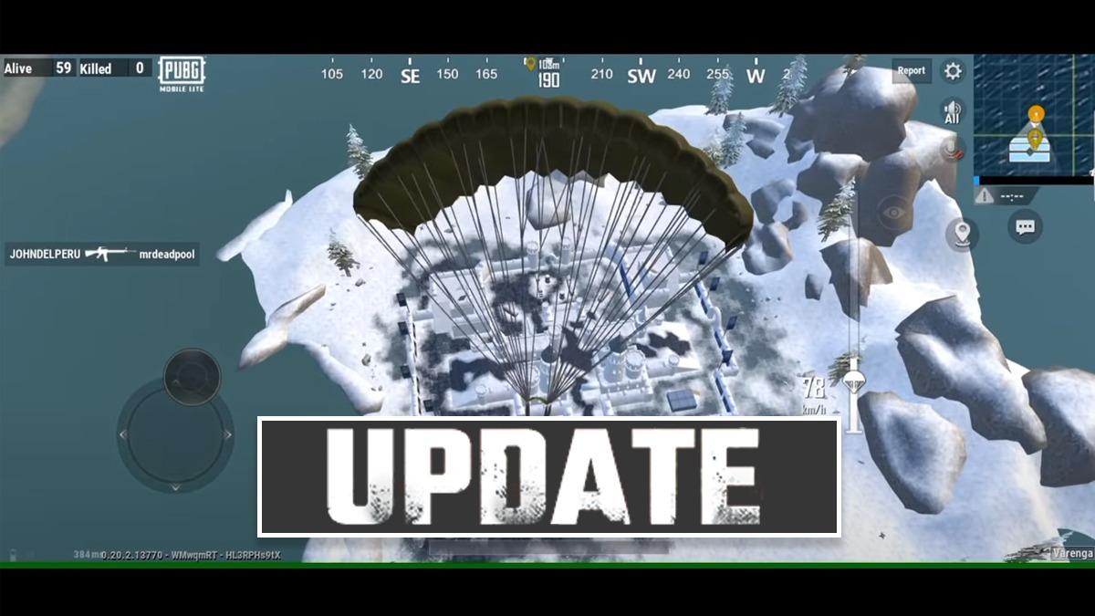 PUBG Mobile Lite Winter Update 0.20.0 Beta version released