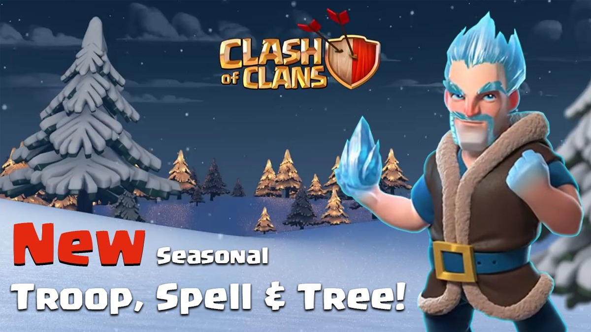 Clash of Clans winter update leaks, new features revealed