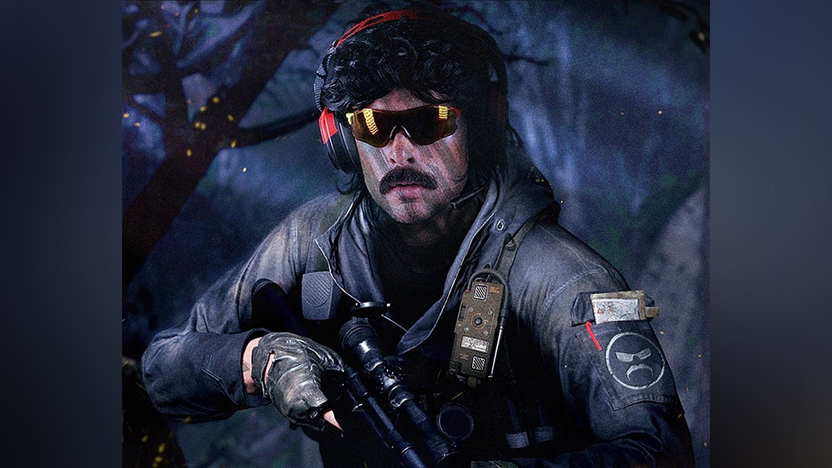 Dr Disrespect blames Twitch for not getting Activision's creator code