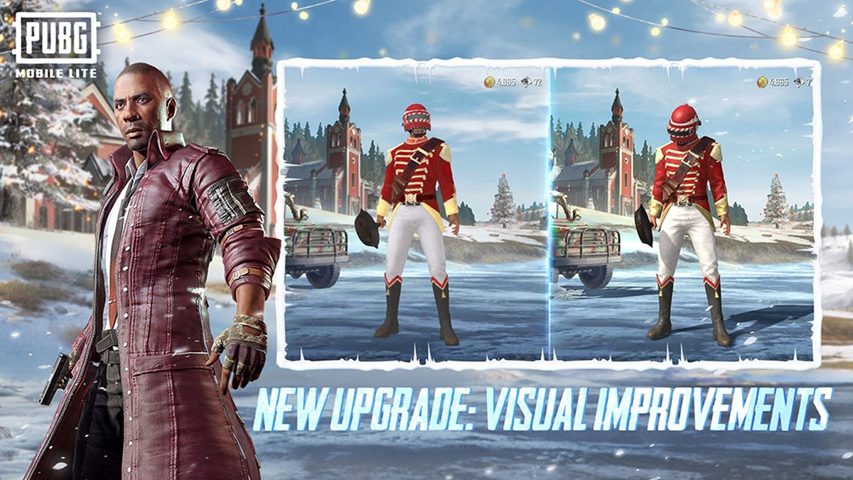 Pubg Mobile Lite Winter Update 0.20.3 Beta Version is now available