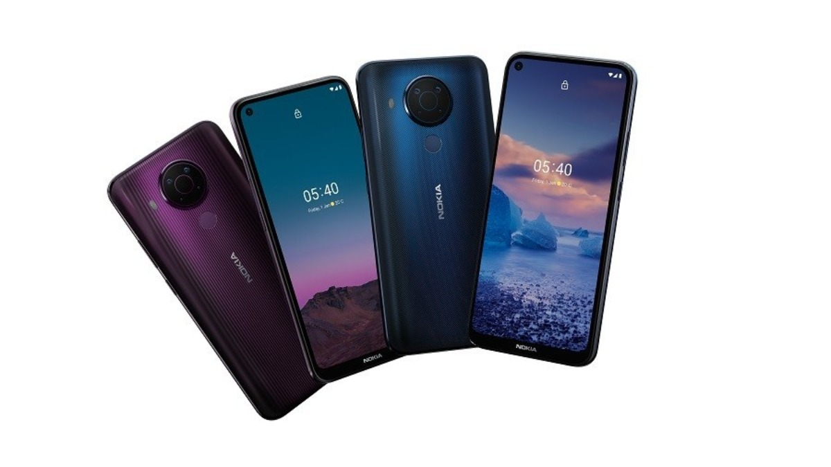 Nokia 5.4 launched which features Quad Camera's & a 4000 mAh battery