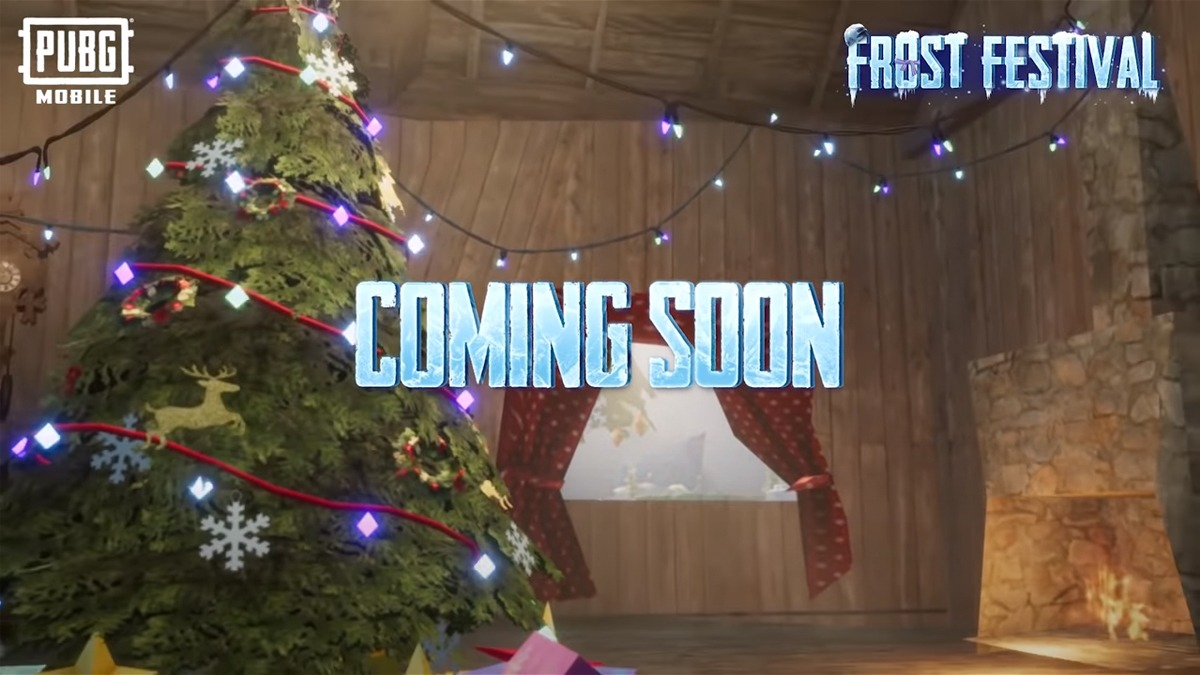 PUBG Mobile Frost Festival Winter Update to be released Soon