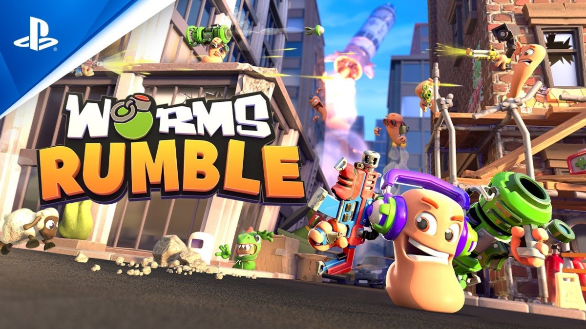 Worms Rumble is now available on PS4 & PS5 consoles as a PS Plus title