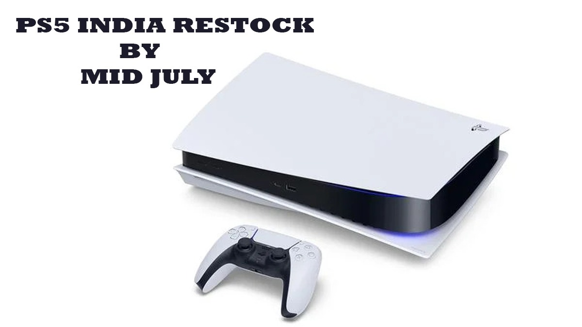PS5 Restock India